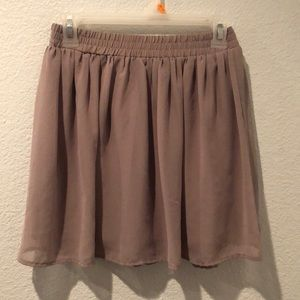 High waisted loose skirts